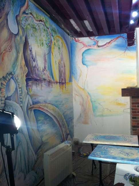 D Coration D 39 Int Rieur Fresques Murales Trompe L 39 Oeil
